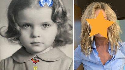 Znana aktorka pokazała zdjęcie z dzieciństwa. Domyślacie się, kto to jest?