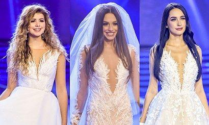 Miss Polski 2020: Finalistki wystąpiły w sukniach ślubnych od Violi Piekut! Powalają na kolana