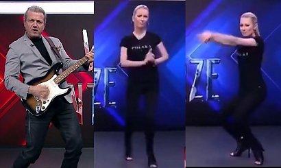 Magdalena Ogórek, Jarek Jakimowicz i ich frywolny taniec w TVP hitem sieci! Są już przeróbki!
