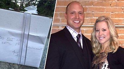 Po 9 latach otworzyli prezent ślubny. Zaniemówili z wrażenia, gdy zobaczyli, co zawierał!