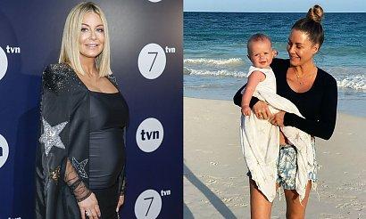 Małgorzata Rozenek pozuje w bikini i chwali się figurą! Zdradziła, ile waży i ile przytyła w ciąży!