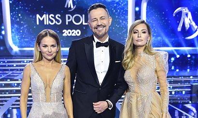 Miss Polski 2020: Paulina Sykut i Agnieszka Hyży w trzech wieczorowych kreacjach! Która lepiej?