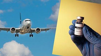 """""""Zaszczep się i leć"""" - kontrowersyjna kampania linii lotniczej. Czy to dobry krok?"""