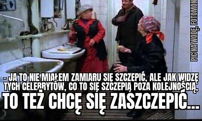 """Krystyna Janda zaszczepiła się w terminie """"zero"""". Internauci tworzą memy"""