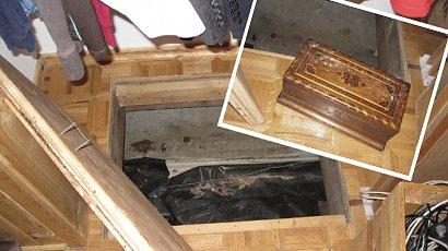 Odkryli w domu tajemniczy schowek. Gdy go otworzyli, zaniemówili z wrażenia!