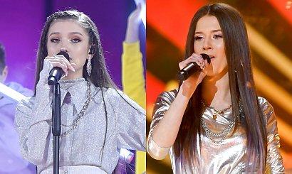 Roksana Węgiel i Viki Gabor na Sylwestrze. Obie w srebrze. Która wypadła lepiej?