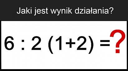 Prosta zagadka matematyczna spędza sen z powiek internautom. Potrafisz ją rozwiązać?