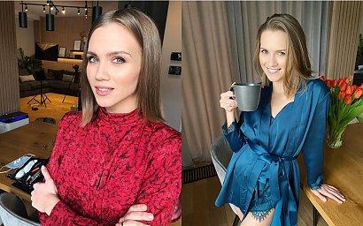 """Agnieszka Kaczorowska eksponuje duży, ciążowy brzuszek:""""Ale Cię wywaliło"""" - ktoś skomentował"""