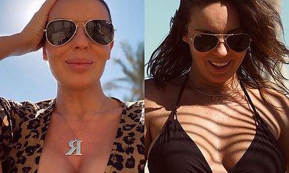 Agnieszka Włodarczyk w bikini prezentuje ciążowy brzuszek! Jest na kolejnych wakacjach