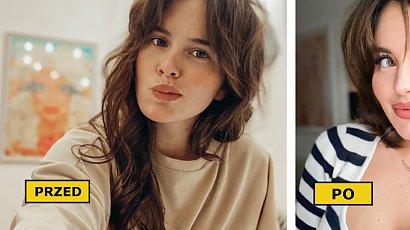 """Aleksandra Żuraw z """"Top Model"""" zafundowała sobie ostre cięcie? W nowej fryzurze wygląda zjawiskowo!"""