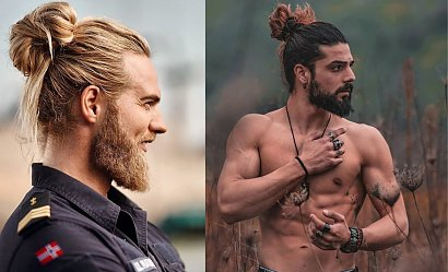 4 mega męskie fryzury na długich włosach!