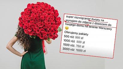 Jesteś samotna? Możesz WYPOŻCZYĆ sobie kwiaty do zdjęcia. Absurdalny pomysł ma swoje fanki