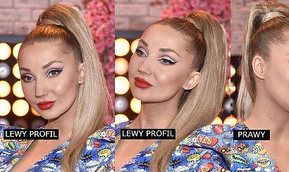 Cleo na ramówce TVP. Zauważyliście, że zawsze pokazuje tylko lewy profil? A jak wygląda prawy?