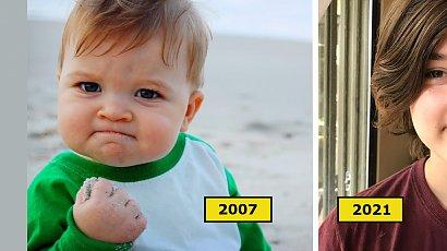 Pamiętacie uroczego chłopca z memów? Dziś ma już 14 lat! Zobaczcie, jak teraz wygląda!