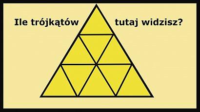 Ile trójkątów widzisz na obrazku? Mało kto potrafi wskazać prawidłową odpowiedź!