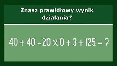Proste zadanie matematyczne przerosło internautów! Potrafisz je rozwiązać?