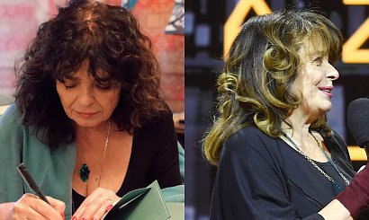 Katarzyna Grochola w nowej fryzurze na Gali Empiku! Refleksy odmłodziły ją o 10 lat i rozświetliły twarz!