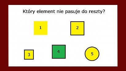 Który element nie pasuje do pozostałych? Tylko nieliczni potrafią wskazać prawidłową odpowiedź!