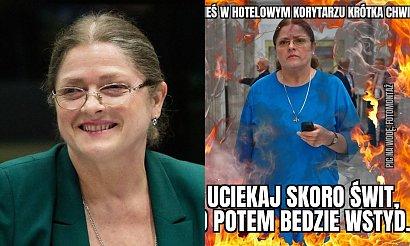 Krystyna Pawłowicz odpoczywała w hotelu mimo zakazu. Wybuchł w nim pożar. Są już memy