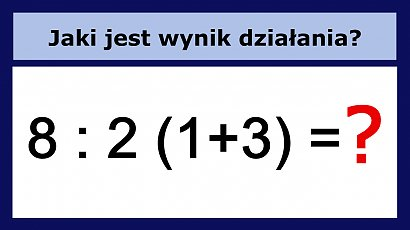 Potrafisz rozwiązać to działanie? Banalna zagadka matematyczna pokonała internautów!