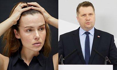 """Marta Żmuda Trzebiatowska: Byłam najgrubsza w klasie. Skomentowała słowa Czarnka o """"odchudzaniu dziewcząt"""""""