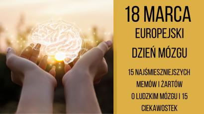 Europejski Dzień Mózgu - 15 ciekawostek o ludzkim mózgu. Memy i żarty