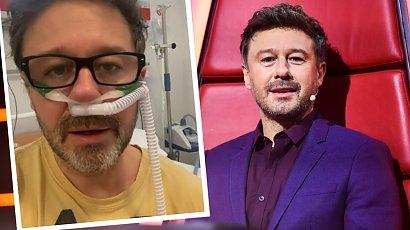 Andrzej Piaseczny ma koronawirusa! Wokalista wrzucił przejmujące nagranie ze szpitala!