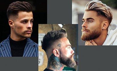 Krótkie, męskie fryzury - trendy na rok 2021!