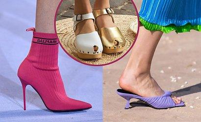 Modne buty na wiosnę 2021 - trendy prosto z wybiegów!