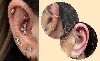 Helix piercing - odważny trend na zdobienie ucha