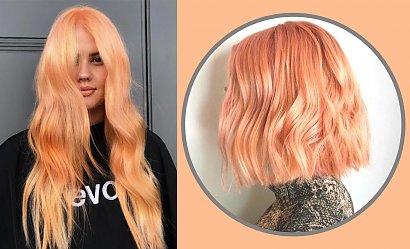 Peach blonde - do kogo pasuje ten modny kolor?