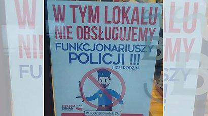 Restauracja w Toruniu nie obsługuje policjantów i ich rodzin. Zbulwersowani ludzi reagują. Słusznie?