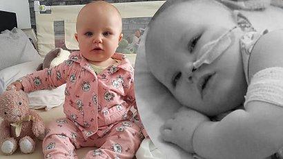 Półtoraroczna dziewczynka doznała dwukrotnie udaru. Zrozpaczona matka ostrzega innych rodziców