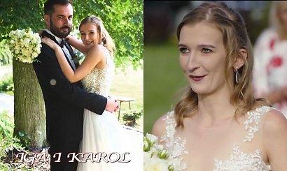"""Iga ze """"Ślubu od pierwszego wejrzenia"""" krytykowana za makijaż ślubny i fryzurę! """"Upięcie jak z podstawówki"""""""