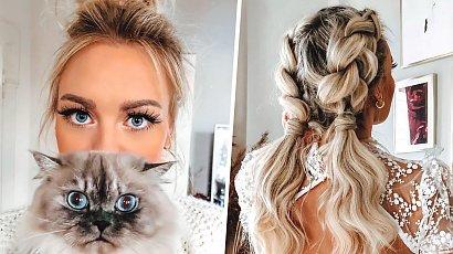 Oto posiadaczka najpiękniejszych włosów na Instagramie! Jej niesamowite fryzury oczarowały internautów!