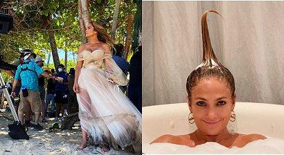 Jennifer Lopez pozuje bez majtek w garniturze pełnym dziur. Wszystko widać? Internauci są w szoku!