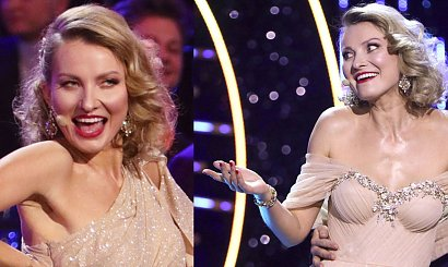 Joanna Moro w dwóch kreacjach na Dniu Kobiet w TVP. Suknia balowa piękna, ale druga to sztos!