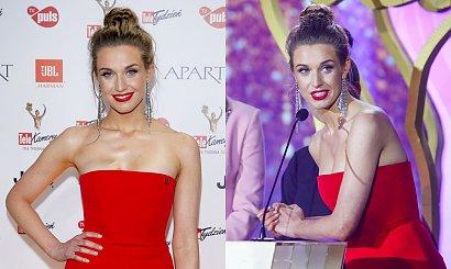 Julia Kamińska jak prawdziwa królowa w czerwonej sukni. Ale potem... OMG zaliczyła wpadkę?