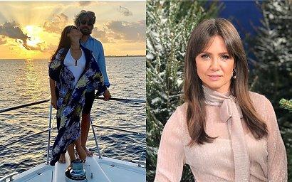 """Kinga Rusin w skąpym bikini na tle oceanu: """"W Twoim wieku taki kaloryfer? Ale stanik to za ciasny"""" - komentują fani"""