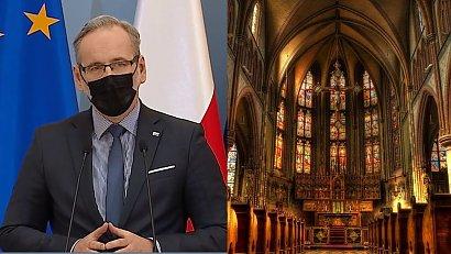 Adam Niedzielski tłumaczy się z nie zamknięcia kościołów: Absolutnie nie ma wyróżniania