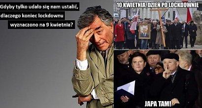 Lockdown w Polsce obowiązuje do 9 kwietnia. Dlaczego? Internauci tworzą memy