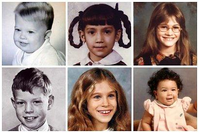 Gwiazdy w dzieciństwie: zobacz niesamowite metamorfozy celebrytów!