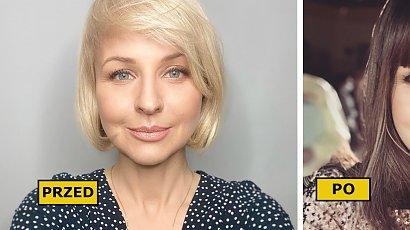 Monika Dryl zaszalała z fryzurą! W ciemnych włosach i grzywce wygląda jak Anna Lewandowska? SZOK!
