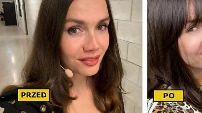 Olga Bołądź zafundowała sobie modną grzywkę! Nowa fryzura odjęła jej lat i dodała wdzięku!