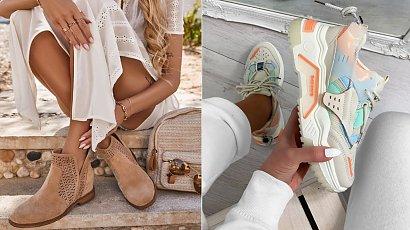 Wiosenne trendy - buty idealne do sukienki
