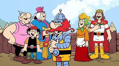 Kajko i Kokosz na Netflixie! Jaki jest kultowy komiks w wersji animowanej?