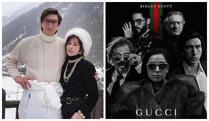 """Lady Gaga i Adam Driver w filmie Ridley'a Scotta """"House of Gucci"""""""