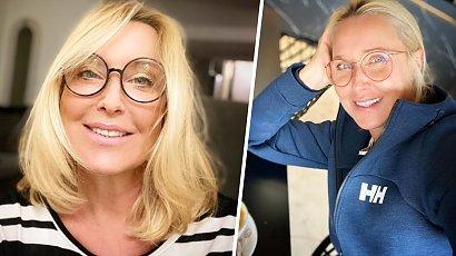 Agata Młynarska znów odwiedziła fryzjera! Jest nowy kolorek i cięcie short bob! Korzystna zmiana?