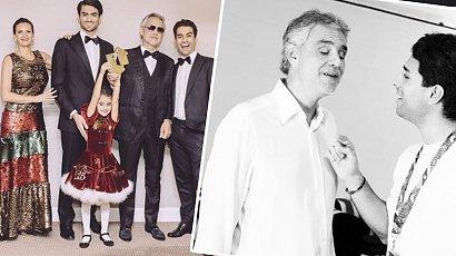Amos Bocelli to najstarszy syn tenora. Czy jest tak samo przystojny jak Andrea Bocelli?