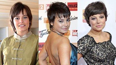 Anna Mucha skończyła 41 lat! Przypominamy wszystkie jej fryzury: pixie cut, short bob i long bob [STARE ZDJĘCIA]